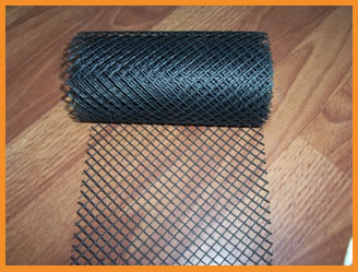 Gutter Guard Mesh Hebei Hengsu Plastic Netting Co Ltd